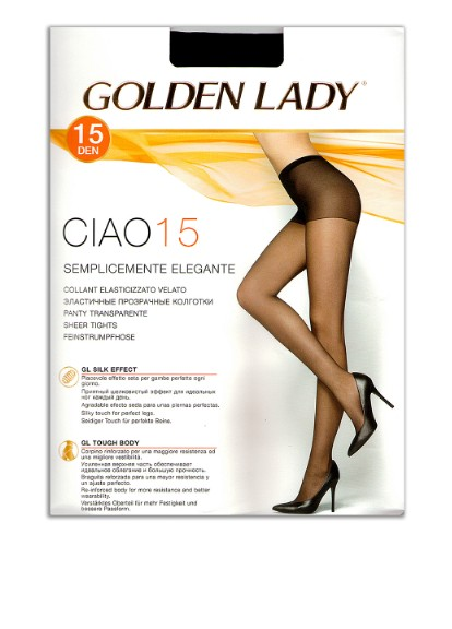 Колготки 15 den, nero Golden Lady
