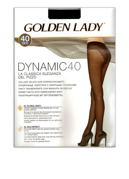 Колготки 40 den, nero Golden Lady